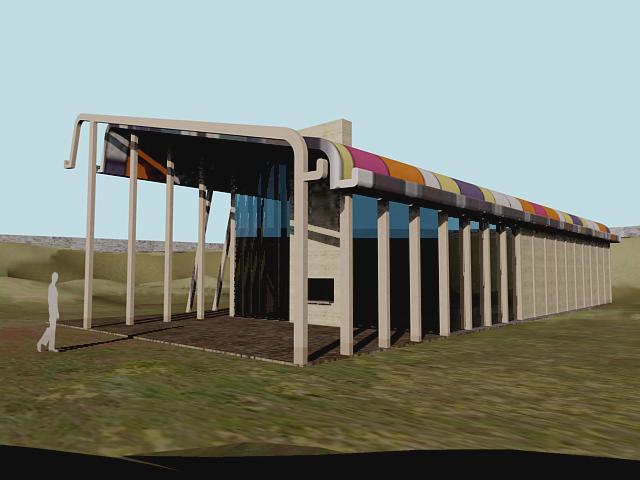 Un quillier en torchis les nouveaux commanditaires for Architecture utopique 60
